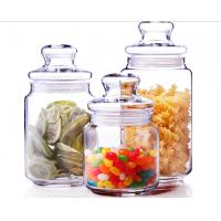 Buy cheap 500ml Glass Spicy Jar with Lid / Glass Storage Jars / Stock Glass Jars product