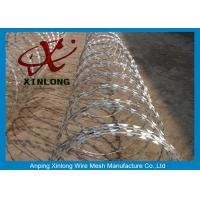 Buy cheap Stainless Steel Razor Barbed Wire Mesh Fence 2.5mm Wire Diameter XLF-12 product