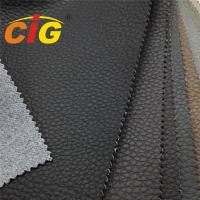China Anti Scratch Super Strong Synthetic Polyurethane Leather Fabric For Car Decorative on sale