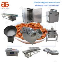 Buy cheap Fried Peanut Processing Line with Good Price|Automatic Peanut Production Line|Easy Operate Groundnut Processing Machine product