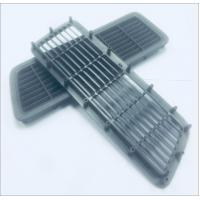 Buy cheap Plastic part for air outlet for automobile , high precision , Material ABS + PC  , Color  gray or black product