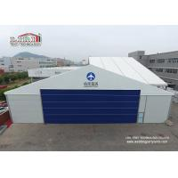 Buy cheap Durable Wind Resistant Aluminum Aircraft Hangar With Auto Rolling Door 30m Width from Wholesalers