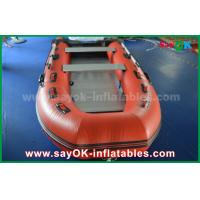 Buy cheap Durable Tarpaulin PVC Inflatable Boats with Aluminum Floor and Paddles product