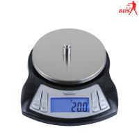 Buy cheap BDS-CX kitchen scale,With LCD display,backlight,Transport locked,Overload protection,2kg/3kg/0.1g,black body color . product