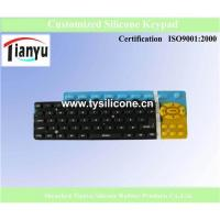 Buy cheap Hot OEM Silicone Keypad from Wholesalers