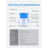 10 Pressure Control Pulse Aquarius Water Flosser  , Teeth Cleaning Water Jet Brush