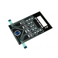 Buy cheap Silk Printed PMMA Deadfront Panel Touch Switch With ZIF Connector Rohs CE product