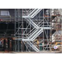 Buy cheap Hot Dip Galvanized Kwikstage / K - Stage Cuplock Stair Tower With Safety Ladder product