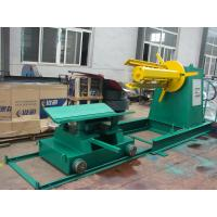 Buy cheap Automatic Steel Coil Uncoiler To Decoiling 11kw , Sheet Cutting Machine product