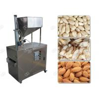 Buy cheap Stainless Steel Nut Slicer Machine Almond Peanut Automatic Processing 380V product