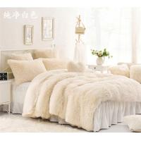Buy cheap Double Layer Warm Fake Fur Blanket , Luxury Sherpa Throw Blanket For Bed / Sofa product