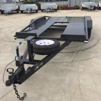 China Custom 14 x 6.3ft Tandem Car Carrier Trailer / Car Hauler Trailer For Transporting Cars on sale