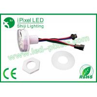 Quality Addressable Rgb Led Pixel 9 SMD 5050 45mm Amusement Park Ride Lamp for sale