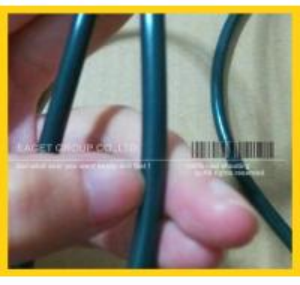 Tira da extrusão de FKM /Viton /Fluorine, cabos de Viton, tubo de borracha do flúor, cabos
