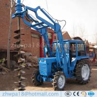 Buy cheap Easy to operate Auger Drilling Machine Tractor DIRT DRILLS product