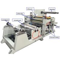 Buy cheap adhesive rubber tape slitting rewinding machine product