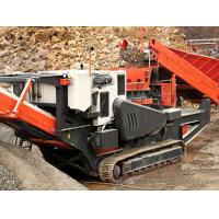 Buy cheap screen mobile portable track-mounted impact/cone and jaw crusher crawler mobile jaw crusher product