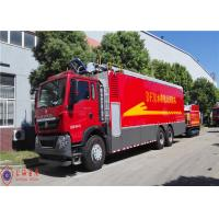 Buy cheap Max Power 294kw Fire Fighting Truck Hose Reel Retraction Speed 2.5 - 3M/S product