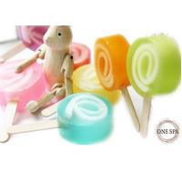 Buy cheap Sweet Lolipop Candy Shape Organic Natural Soaps Glycerin Gpmc product