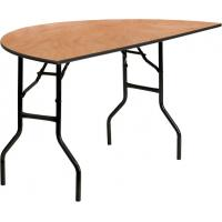 Buy cheap Waterproof Plywood Folding Tables For Banquet Halls , Wooden PVC Commercial Dining Tables product