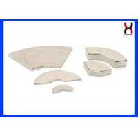 Buy cheap Motor  Neodymium Arc Magnets Curved / Wedge Shape Magnets High Working Temperature product