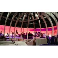 Buy cheap Round Curved HD Indoor P3 Flexible Led Advertising Displays for Rental Show product