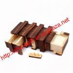 Buy cheap Compartment Wooden Secret Magic Puzzle Box product