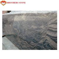Buy cheap Commercial Large Polished Granite Stone , G603 Grey Juparana Granite product