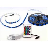 Buy cheap Good Performance Outdoor RGB LED Strip Lights Waterproof 20lm/Pcs White FPC Color product