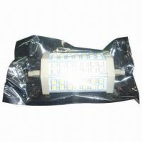 Buy cheap Dimmable LED R7S Light with 10W Power/910lm Luminous Flux and 2 Years Warranty product