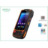 Buy cheap 1D 2D Scanner mobile phone 16GB Military Spec Smartphone with LF 125KHz 134.2KHz product