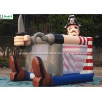 Buy cheap Fire Retardant Toddler Inflatable Bouncing Castle Of Pirate Jack Theme product
