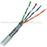OEM Cat5E SFTP Cable 1000Ft Exterior Grade Cat5 Ethernet Cable Of Networkpatc