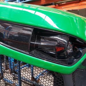 Buy cheap Gel Coat Paint Fiberglass Tractor Parts Fiberglass Tractor Engine Cover product