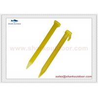 Buy cheap High quality plastic tent peg stake for beach tent large tent from Wholesalers