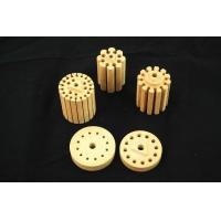 Buy cheap High Water Absorption Cordierite Ceramic Part / Tube For Arc resistance from wholesalers