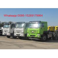 Buy cheap SINOTRUK HOWO ZZ4257S3241W 6x4 10 wheel Right hand drive 371HP tractor truck product