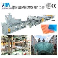 Buy cheap Greenhouse polycarbonate hollow roofing sheet extrusion machine product