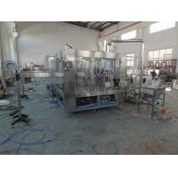 China 3 In 1 Juice Bottling Equipment Stainless Steel / Filling Capping Machine on sale