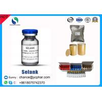 Buy cheap Selank Injectable Synthetic Analogue Nootropic Anxiolytic Peptide CAS 129954-34-3 product