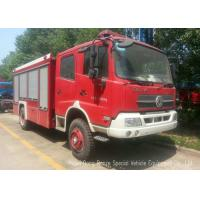 Buy cheap Offroad 4X4 Rescue Fire Truck With 3000 Liters Water Tank 1500 Liters Foam product