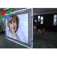 Cool White 8000K LED Crystal Light Box A3 A4 Poster Size For Real Estate Store Display