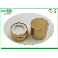 Buy cheap High End Cardboard Cylinder Tubes , UV Coating Kraft Paper Tube Packaging product