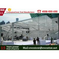 Buy cheap New Design 30m Width Clear Span aluminum Buildings With Glass Wall 800 Sqm Area from Wholesalers