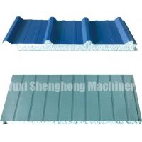 Buy cheap Continuous EPS Sandwich Panel Production Line 0.286 - 0.6mm Thickness product
