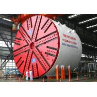 Buy cheap Slurry Pressure Balance Tunnel Boring Machine With Panel Cutter Head Electrical Motor Drive product