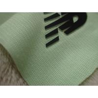Two Layers Color Silicon Heat Transfer Clothing Labels With Soft Hand Feel For Outdoor Garment