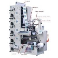 Buy cheap RY480-5B Multicolor Thermal Sticker Printing Machine for rolls of label paper full automaticlly product