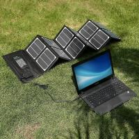 Buy cheap Outside Camera /  Ipad Solar Panel Charger 40W DischargingProtection product