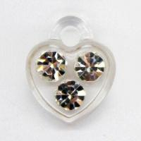 Buy cheap Rhinestone plastic-injected pendant product